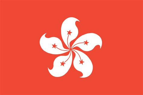 hong kong hong kong flag flag of hong kong china