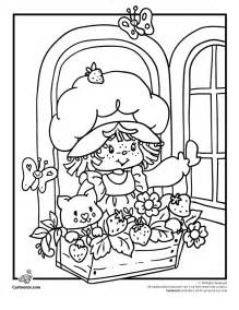 printable vintage coloring book pages vintage strawberry shortcake coloring pages az coloring