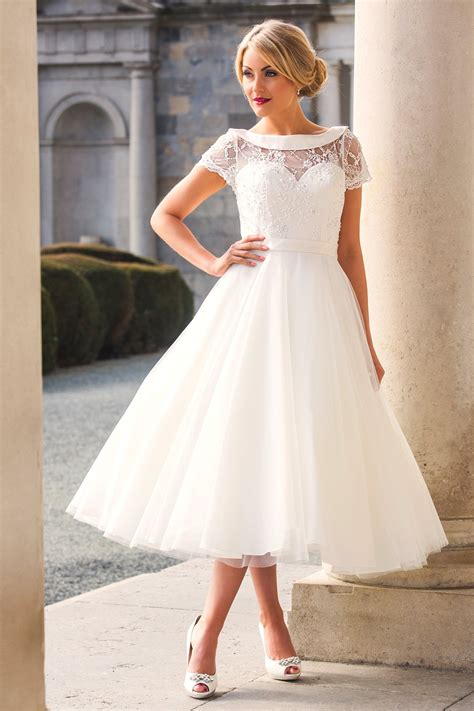 Wedding Dresses Tea Length by Stunning Tea Length Wedding Dresses From Special Day