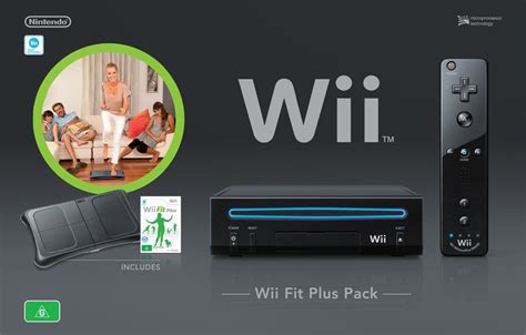 Shiny Medias Wiiwii by Nintendo Wii Console Black Wii Fit Plus Bundle The