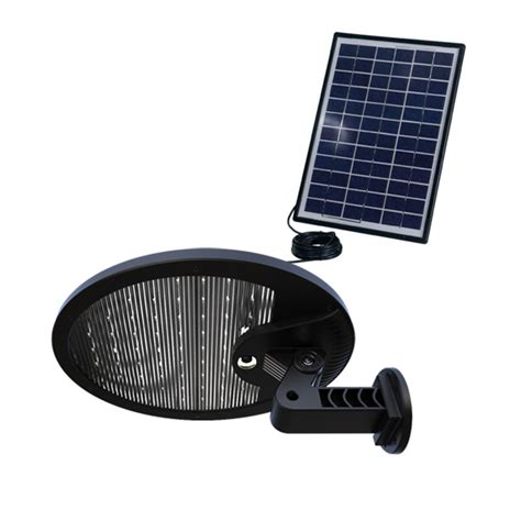 Gfs Halo Solar Security Light Green Frog Systems Solar Security Lighting