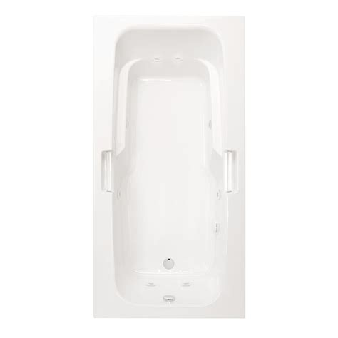 alcove whirlpool bathtub kohler archer 6 ft acrylic right drain rectangular alcove