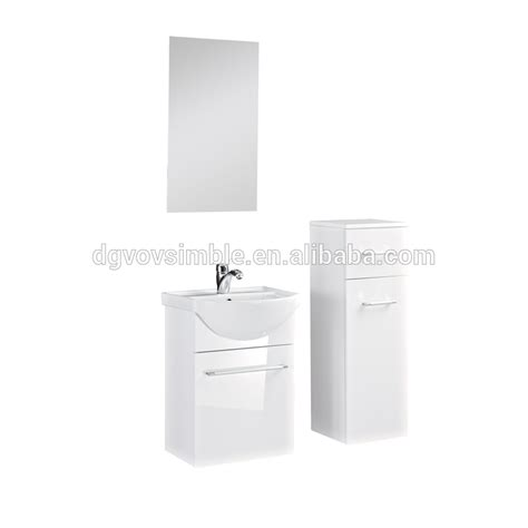 slim white wall hung wash basin bathroom wall corner