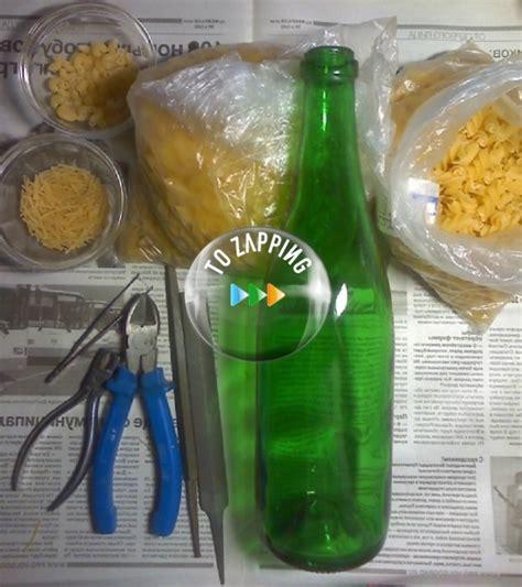 florero de cristal florero con botellas de cristal tozapping
