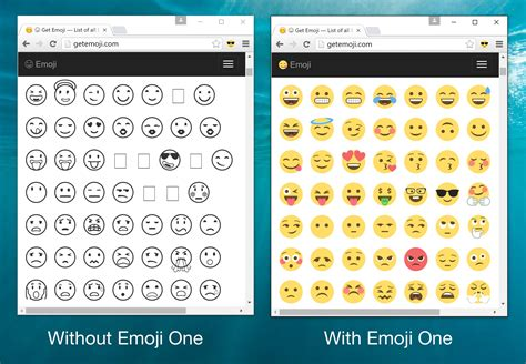 emoji on windows 10 emoji one 2 1 changelog and new chrome extension