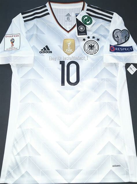 Jersey Germany Home New World Cup 2018 Grade Ori germany 2018 world cup jersey