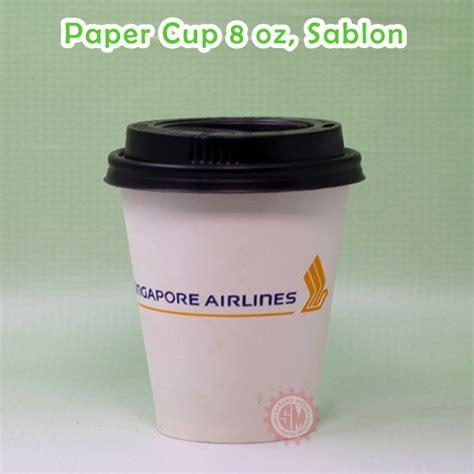 Sablon Paper Cup 16 Oz distributor paper cup grosir paper cup paper bowl dan