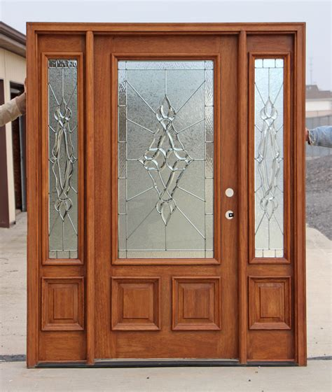 Exterior Entry Doors With Sidelights Glass Entry Doors With Sidelights Three Dimensions Lab