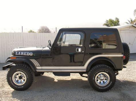 jeep cj laredo 1985 jeep cj 7 laredo