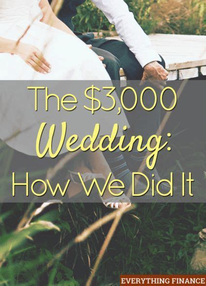Wedding Budget 3000 by The 3 000 Wedding How We Did It Budget Wedding