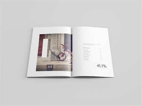 Graphic Design Magazine Mockup | letter size magazine mockup