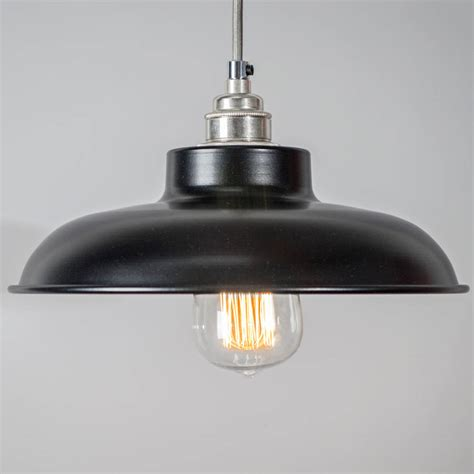 Dome Pendant Light Dome Industrial Pendant Light Shade By Bare Bones Lighting Notonthehighstreet