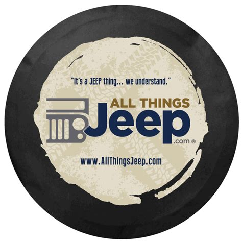 jeep logo black all things jeep all things jeep logo tire cover black