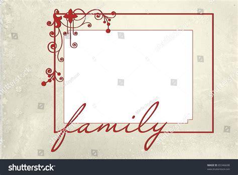 family pic frames family frame with modern design on snowflake