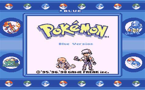 emuparadise pokemon pokemon blue version usa europe rom