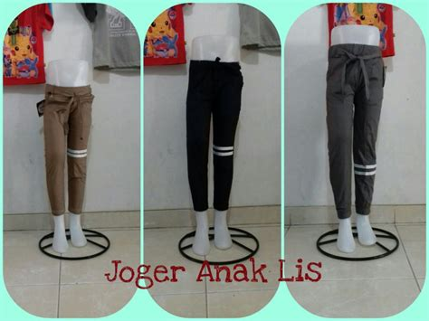 Pusat Grosir Baju Aussiejumbo Top Katun grosiran celana jogger katun anak murah surabaya 16ribu