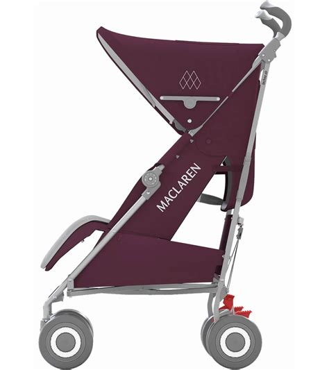 maclaren 2016 techno xlr stroller plum silver