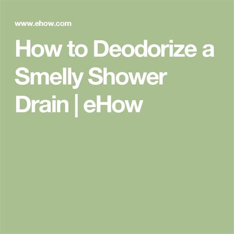 how to clean a smelly drain in bathroom sink 25 best ideas about smelly drain on pinterest clean