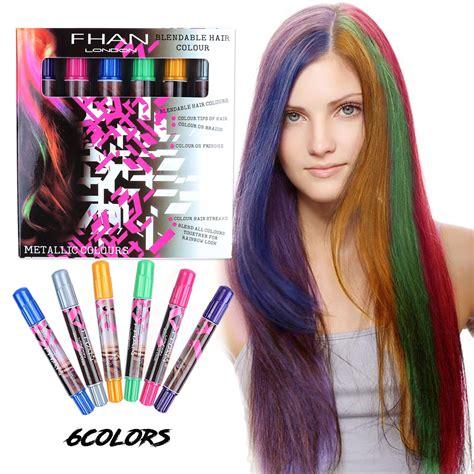 chalk hair color hair chalk set xiao mo gu temporary hair color for
