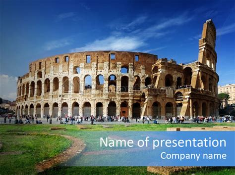 powerpoint themes rome culture gladiator ancient powerpoint template id