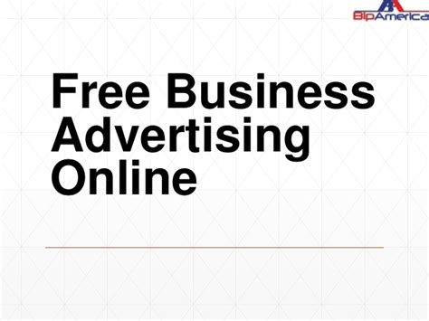 free business advertising online 28 images free
