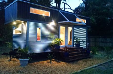 contemporary tiny houses modern tiny house on wheels in orlando fl