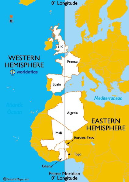 map world eastern western hemisphere countries in both the eastern and western hemispheres