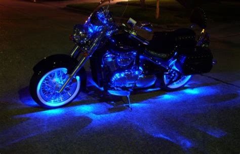 led blue lights for motorcycles safety with led bike lights bcf consulting