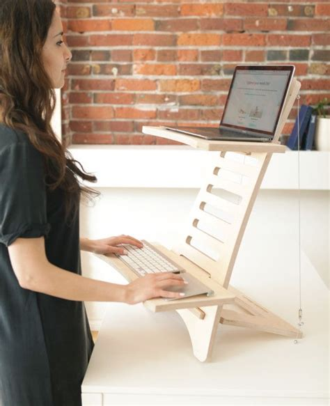 standing portable desk best 25 standing desks ideas on diy standing