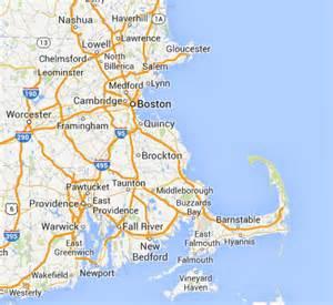 Greater Boston Map by Boston Home Pet Euthanasia