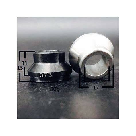 Wide Bore Drip Tip Black 316 Stainless Steel For 24mm Rda 24 Mm 316ss black wide bore drip tip for 24mm e cig atomizer