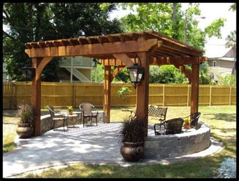 179 Best Favorite Places Spaces Images On Pinterest Small Backyard Pergola Ideas