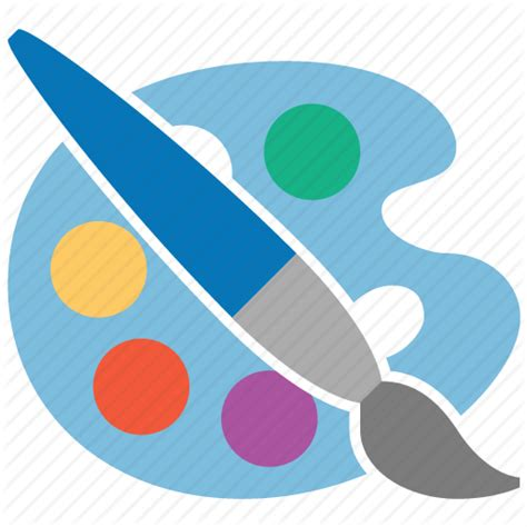 design icon in sketch artist draw drawing paint tools painter palette