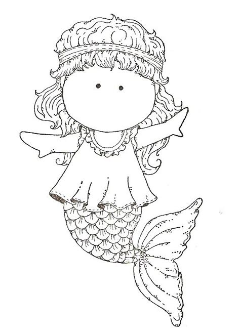 cute mermaid coloring coloring pages