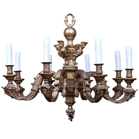 Baroque Chandelier Baroque Style Chandelier At 1stdibs