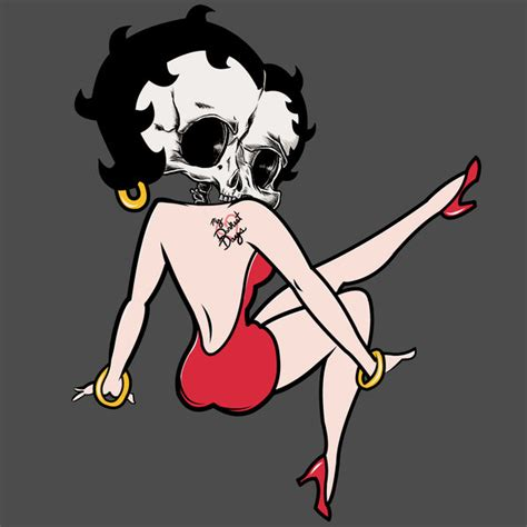 betty boop tattoo design by impetualsunday on deviantart