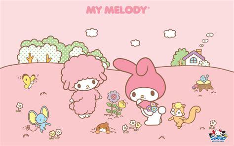 Wallpaper Gambar My Melody 2 มายเมโลด