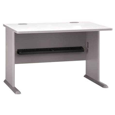 computer desk with file drawer bush business series a 48 quot computer desk with 2 drawer