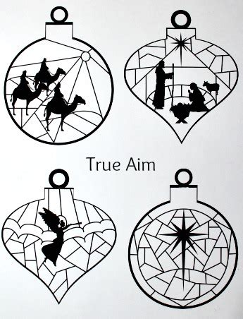 printable nativity ornaments stained glass nativity ornaments printable true aim