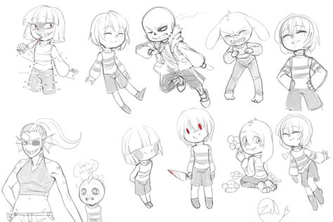 undertale sketchbook undertale sketches by zeldaprincessgirl100 on deviantart