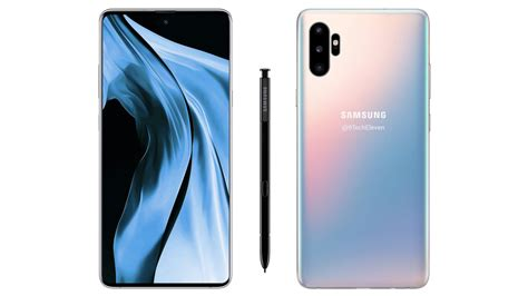 Samsung Galaxy Note 10 Glow by Leak Teases Samsung Galaxy Note10 Arrangement