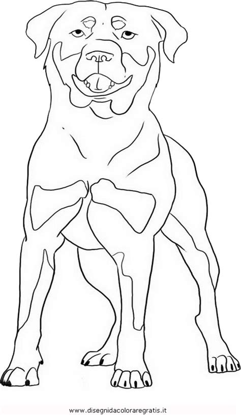 Free Coloring Pages Of Rottweiler Rottweiler Coloring Pages