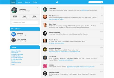 social network layout inspiration 30 unofficial redesigns of popular social media sites