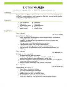 In Room Dining Attendant Description Find C Dining Room Attendant Resume Sles