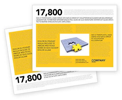 one sided brochure brochure templates design and layouts