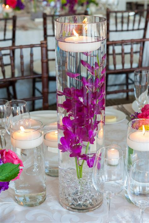 How To Make Flowers Float In Vases by 1000 Images About Floating Candles Flowers Water On