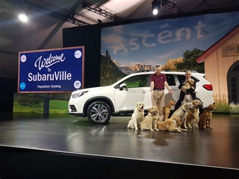 suburu hair salon dog salon de l auto de los angeles subaru ascent 2019 auto