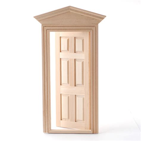 Exterior Door Frames Diy002 Exterior Door And Frame Dolls House Superstore