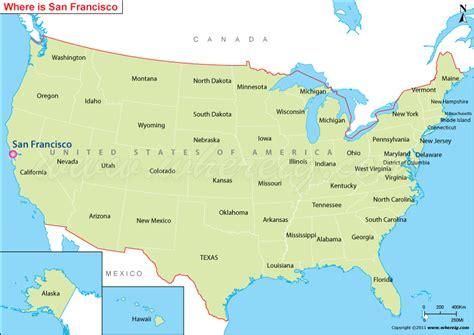 san francisco latitude map san francisco location map jpg