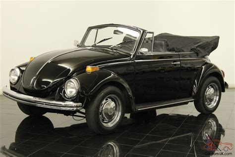 volkswagen convertible black 1972 volkswagen super beetle convertible 1600cc 4